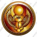 Скарабей (объемный талисман-наклейка)