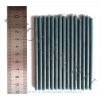 Свеча зеленая 10 см