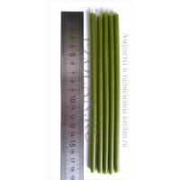Свеча светло зеленая 18 см