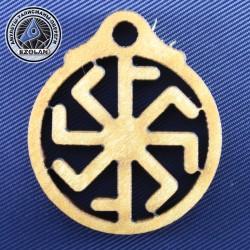 Крест Лады/Колядник (амулет из клёна)