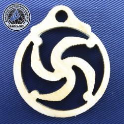 Символ Рода (амулет из клёна)